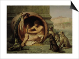 Diogenes, 1860 Prints by Jean Leon Gerome