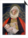 Madonna and Child, 1907-08 Posters by Marianne Stokes