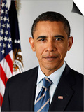 Official Portrait of United States President Barack Obama, 2010 Prints by  American Photographer