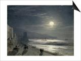 Moon Night, 1885 Posters by Ivan Konstantinovich Aivazovsky