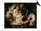 Titania's Awakening, C.1785-90 Posters by Henry Fuseli