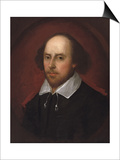 Portrait of William Shakespeare Posters by John Taylor