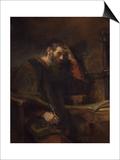 The Apostle Paul, C.1657 Print by  Rembrandt van Rijn