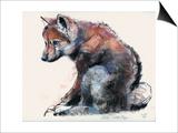 Polish Wolf Pup, 2001 Prints by Mark Adlington