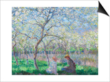 Springtime, 1886 Prints by Claude Monet