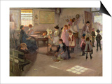 School Is Out, 1889 Prints by Elizabeth Adela Stanhope Forbes
