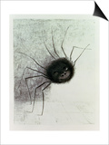 The Laughing Spider, C.1881 Prints by Odilon Redon