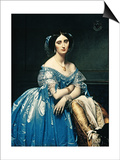 Portrait of the Princesse De Broglie, 1853 Prints by Jean-Auguste-Dominique Ingres