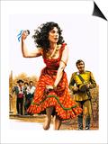Bizet's Carmen Posters by Roger Payne