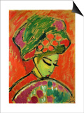 The Turban, 1910 Print by Alexej Von Jawlensky