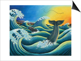 Celebration of the Whale, 1995 Prints by Liz Wright