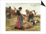 Haymaking, 1880 Posters by Julien Dupré