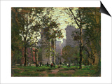 Washington Square, New York Print by Paul Cornoyer