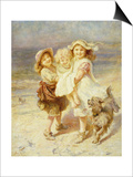 A Day at the Beach Posters by Frederick Morgan