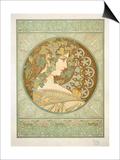 Ivy, 1901 Poster by Alphonse Mucha