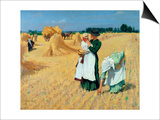 The Gleaners Prints by Alexander Mann