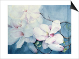 Magnolia Soulangeana (Horizontal) Posters by Karen Armitage