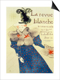 Cover of La Revue Blanche, 1895 Lámina por Henri de Toulouse-Lautrec