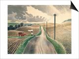 Wiltshire Landscape Prints by Eric Ravilious