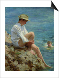 Boys Bathing, 1908 Posters by Henry Scott Tuke
