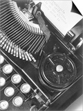 Tina Modotti - La Tecnica - the Typewriter of Julio Antonio Mella, Mexico City, 1928 - Poster