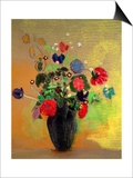Vase of Flowers Prints by Odilon Redon