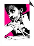 Aisha Pink Print by  NaxArt