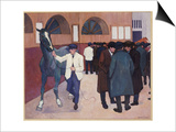 Horse Dealers at the Barbican, 1918 Posters by Robert Polhill Bevan