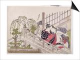 A 'Shunga', C.1785 Posters by Torii Kiyonaga