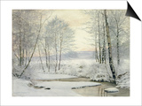 Winter Sunset Prints by James Thomas Watts