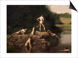Swimming Hole, 1885 Posters by Thomas Cowperthwait Eakins