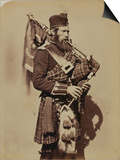 Pipe-Major Macdonald, 72nd (Duke of Albany's Own Highlanders) Regiment of Foot Posters by  Joseph Cundall and Robert Howlett