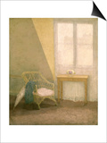 A Corner of the Artist's Room, Paris, C.1907-09 Print by Gwen John
