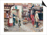 David Copperfield Goes to School Prints by Fortunino Matania