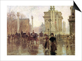 The Dewey Arch, Madison Square Park, c.1900 Prints by Paul Cornoyer
