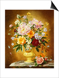 Summer Flowers Poster by Albert Williams
