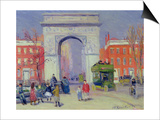 Washington Square Park, c.1908 Prints by William James Glackens
