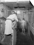 A Hammam in Paris, c.1900 Prints by  French Photographer
