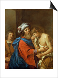 The Return of the Prodigal Son Prints by  Guercino (Giovanni Francesco Barbieri)