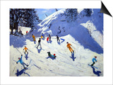 The Gully, Belle Plagne, 2004 Posters by Andrew Macara