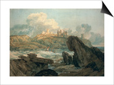 Dunstanburgh Castle Posters by J. M. W. Turner