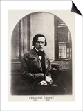 Frederic Chopin (1810-49) Engraved from a Daguerrotype Art