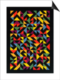 3x36 Permutations, 1986 Kunstdrucke von Peter Hugo McClure