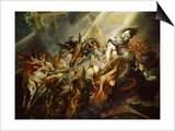 The Fall of Phaeton C.1604-08 Prints by Peter Paul Rubens