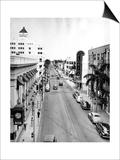 Las Olas Boulevard, Fort Lauderdale, C.1945 Posters