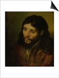 Head of Christ, circa 1648 Posters by  Rembrandt van Rijn