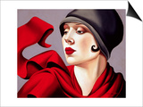 Autumn Zephyr Poster by Catherine Abel