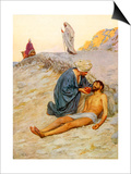 The Good Samaritan Prints by William Henry Margetson