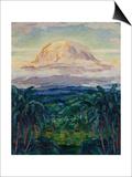 Kilimanjaro: German East Africa, 1914 Posters by Walter von Ruckteschell