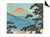Kawase Hasui - Mount Fuji Umělecké plakáty